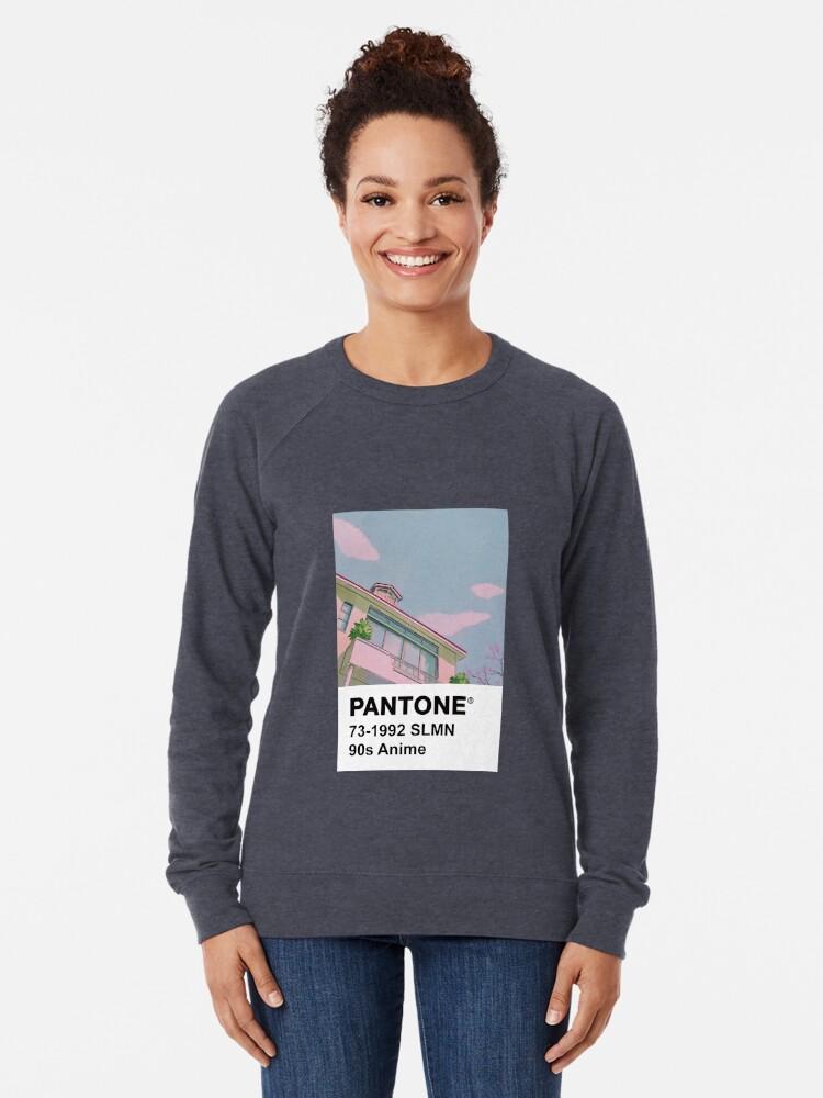 Sweatshirt léger ''PANTONE Anime des années 90': autre vue