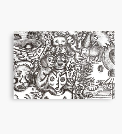 Escapees from the mind Metal Print