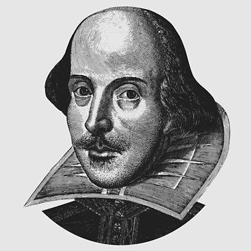 William Shakespeare-Porträt von warishellstore