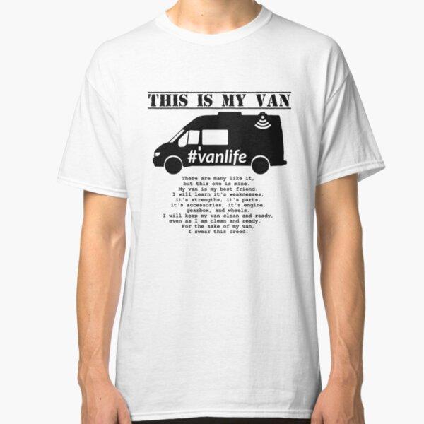 Vanlife Creed - Transit G3 Classic T-Shirt
