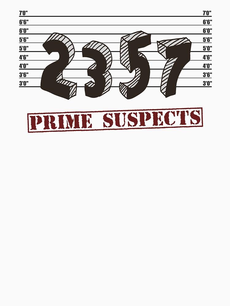 The Prime Number Suspects von TheShirtYurt