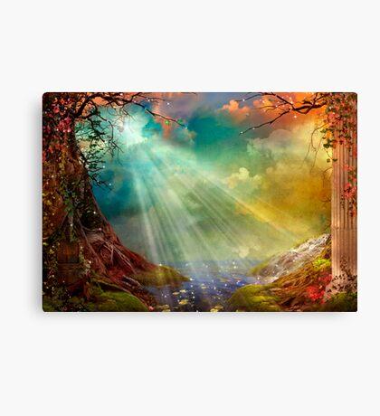 The Secret Grotto Canvas Print