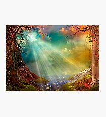The Secret Grotto Photographic Print