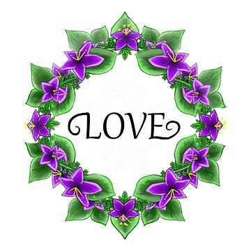 Love Flowers by KaiIori77