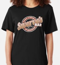 Swerve's Bar - Logo Slim Fit T-Shirt