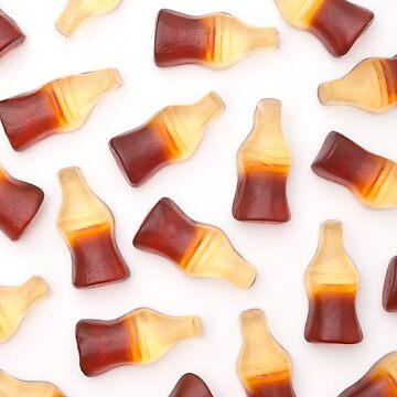 Background of Gummy Cola Bottles by pamela4578