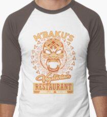 I'm Kidding. We're Vegetarian. Men's Baseball ¾ T-Shirt