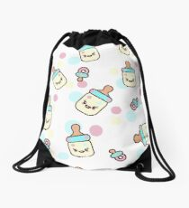 my baby shower Drawstring Bag