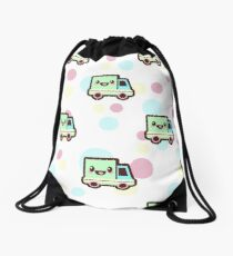 baby shower duvet Drawstring Bag