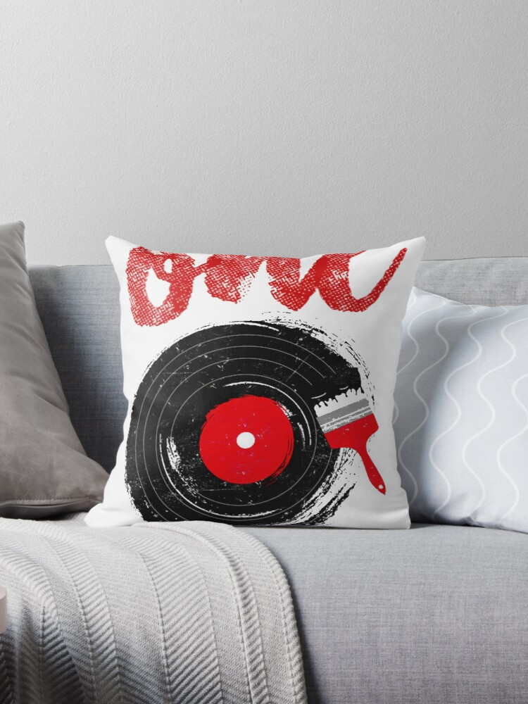 'Ed Sheeran T-shirt | One' Throw Pillow by blindreligion