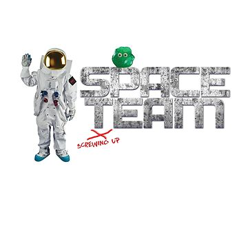 Cal Carver, Splurt and the Space Team Logo by barryhutchison