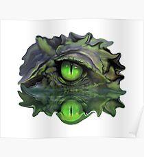 Reptile Vision Poster