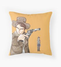 Back to the future 3 [fanart] Floor Pillow