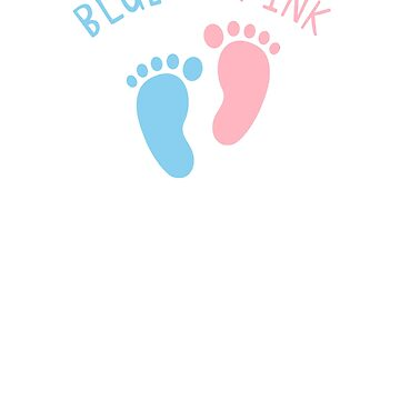 Blue or Pink What Do You Think Gender Reveal, Pregnancy Announcement by unicornthreadz