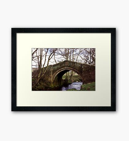 Pack Horse Bridge - Westerdale Framed Print