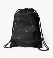 Two Bubbles Drawstring Bag