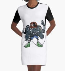 Game On  Graphic T-Shirt Dress
