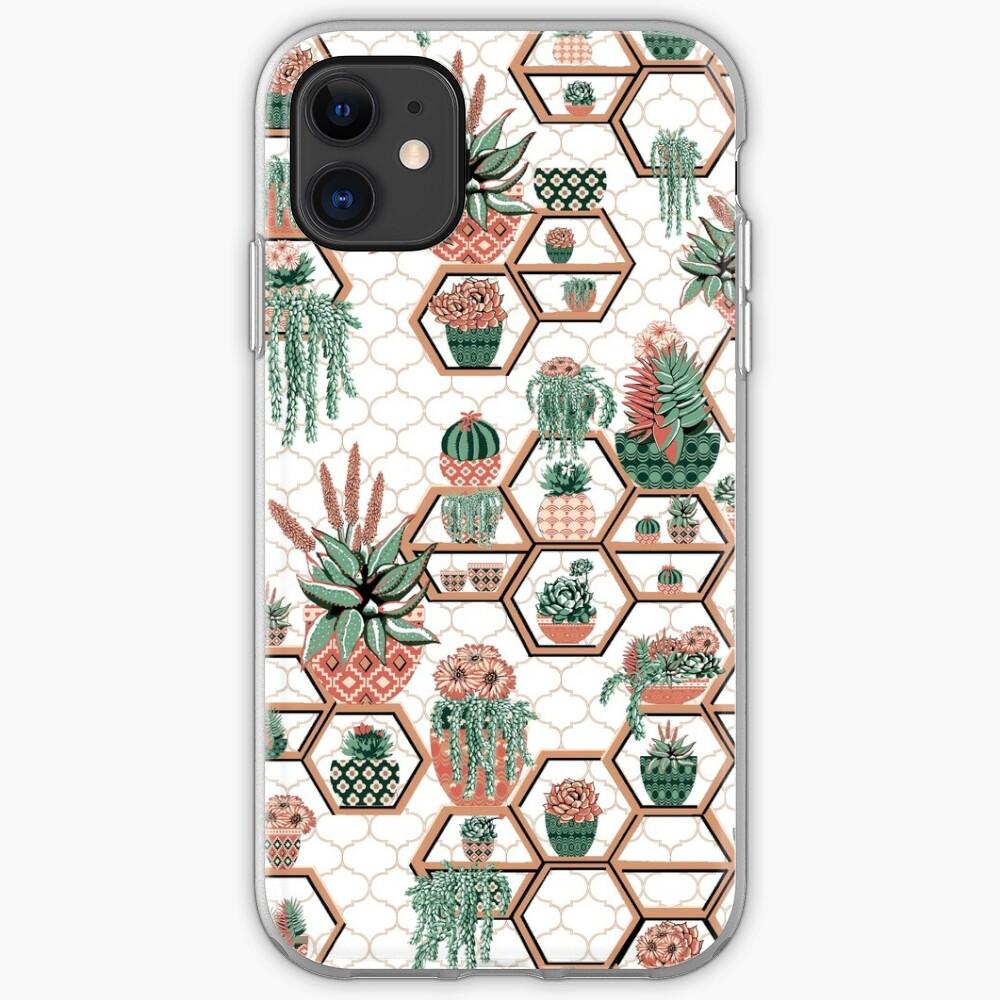 Cactus Pot Plant Garden iphone case