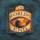 The World's End sign by elizakaze