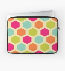 VINTAGE HEXAGON Pop Art Laptop Sleeve