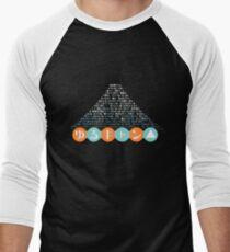 Yuru Camp Mount Fuji Men's Baseball ¾ T-Shirt