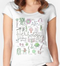 Professor Sprouts Herbology Class Women's Fitted Scoop T-Shirt