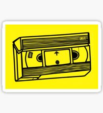 VHS Tape Sticker