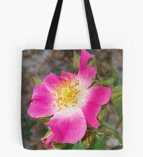 Swamp Rose (Rosa palustris var. scandens) and friend Tote Bag