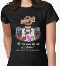 Swerve's Bar - Full Women's Fitted T-Shirt