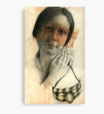 Donna's Mask Canvas Print