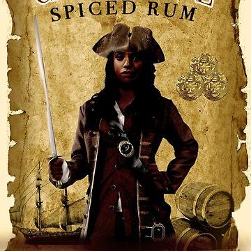 Captain Jiwe Rum by AngelaFV