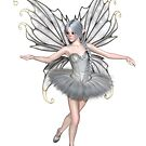 Ballerina Winter Fairy - 1 by algoldesigns