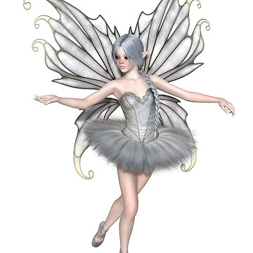 Ballerina Winter Fairy - 1 by algoldesigns