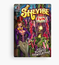 SheVibe Fun Factory Cover Art Canvas Print