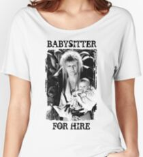 David Bowie - Jareth: Babysitter für Miete Loose Fit T-Shirt