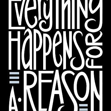 Everything Happens Black by mrana