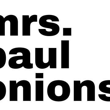 Mrs. Paul Onions – My Favorite Murder Inspired by heykimberlea
