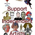 I Support Independent Artists by Diego-t