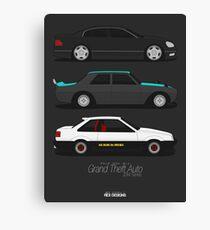 Grand Theft Auto JDM Series Canvas Print