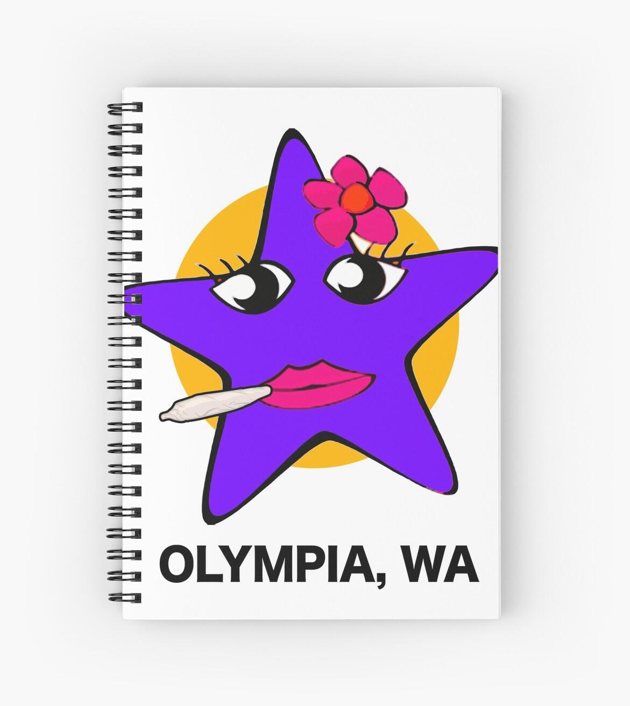 OLYMPIA WASHINGTON von Super Merch