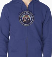 TACKLEBERRY - POLICE ACADEMY MOVIE  Zipped Hoodie