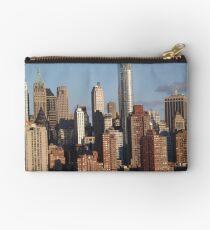 Lower Manhattan Skyline, New York City Studio Pouch