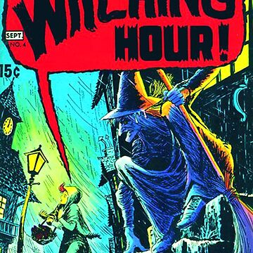 Witching Hour Comic Book Cover by MaskedMarvel