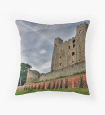 Rochester Castle,Kent England Throw Pillow