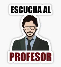 Escucha al Profesor Sticker