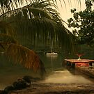 Rainy Afternoon, Moorea by Tyler  Core