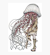 Shroom me up, Jelly Photographic Print