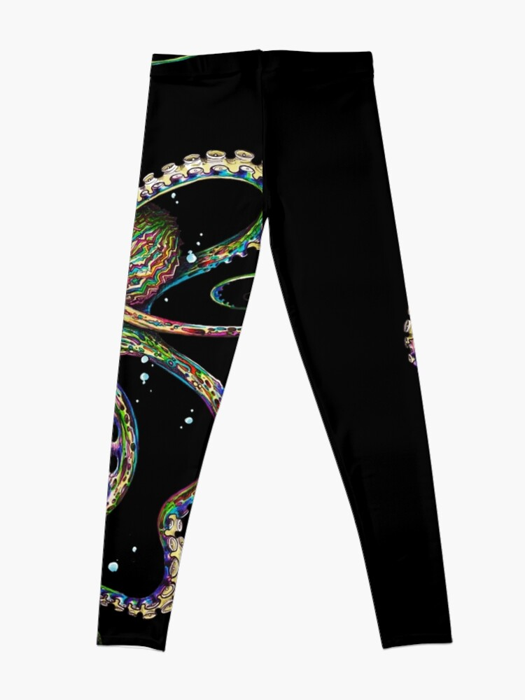 Alternate view of Octopsychedelia Leggings