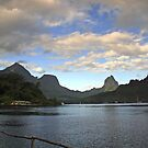 Moorea Morning by Tyler  Core