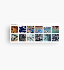 Natural Surface Textures Group Canvas Print